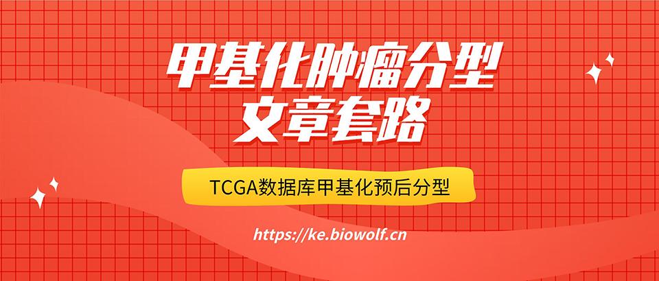 甲基化肿瘤分型文章套路视频(TCGA数据库甲基化预后分型)