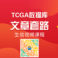 TCGA数据库挖掘文章套路生信视频教程